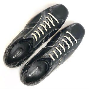 Bacco Bucci Mens Walcott Lace Up Leather Sneaker